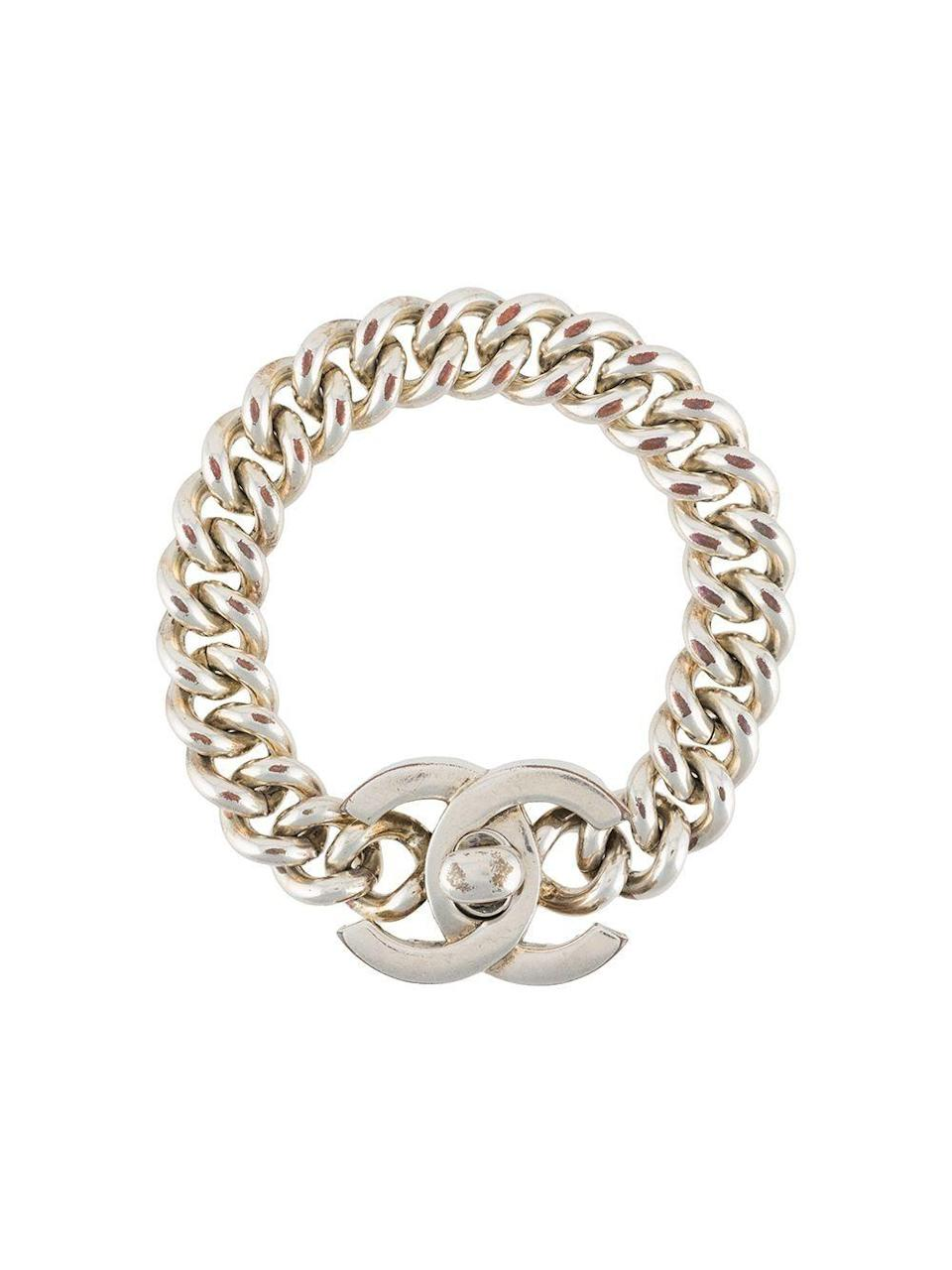 """<p><strong>Chanel Pre-owned</strong></p><p>farfetch.com</p><p><strong>$1707.00</strong></p><p><a href=""""https://go.redirectingat.com?id=74968X1596630&url=https%3A%2F%2Fwww.farfetch.com%2Fshopping%2Fwomen%2Fchanel-pre-owned-1990-cc-turnlock-logo-bracelet-item-15879138.aspx&sref=https%3A%2F%2Fwww.harpersbazaar.com%2Ffashion%2Ftrends%2Fg24061584%2Fbest-gifts-for-friends-ideas%2F"""" rel=""""nofollow noopener"""" target=""""_blank"""" data-ylk=""""slk:Shop Now"""" class=""""link rapid-noclick-resp"""">Shop Now</a></p><p>Who would say no to vintage Chanel?</p>"""