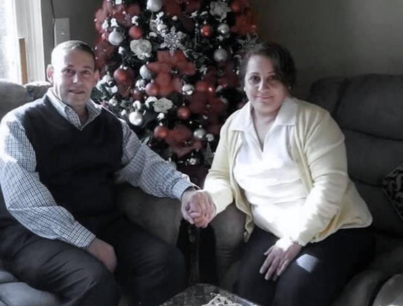 Father-of-three, Nameer Ayram and his wife, Nada Afram Naisan both died of coronavirus nearly a month apart. Source: Facebook