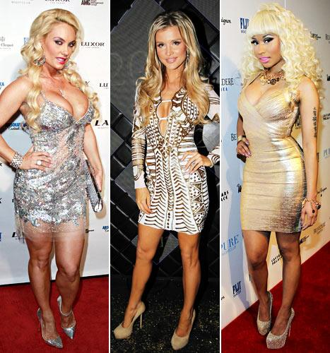 Which Curvy Star Looked Sexiest on New Year's Eve: Coco, Joanna Krupa or Nicki Minaj?
