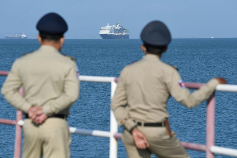 The ship was turned away from Japan, Guam, the Philippines, Taiwan and Thailand over fears of the novel coronavirus