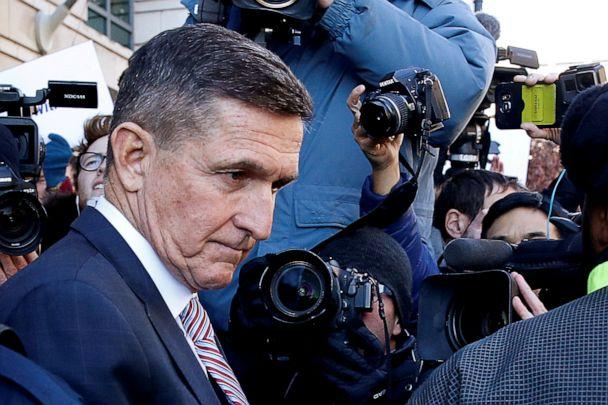 PHOTO: Former U.S. national security adviser Michael Flynn passes by members of the media as he departs after his sentencing was delayed at U.S. District Court in Washington, Dec. 18, 2018. (Joshua Roberts/Reuters, File)