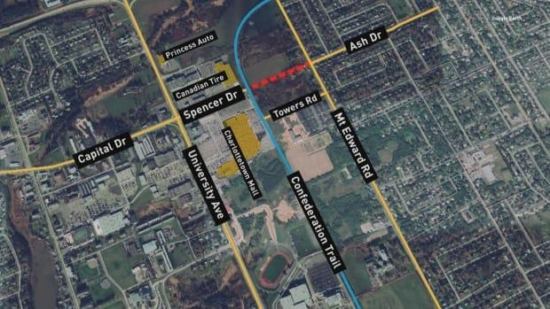 The proposal suggests extending Spencer Drive to Mount Edward Road  creating an intersection on Ash Drive.