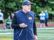 Wolverine TV: Ed Warinner Gives Preview Of Michigan's Offensive Line