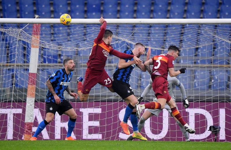 Serie A - AS Roma v Inter Milan