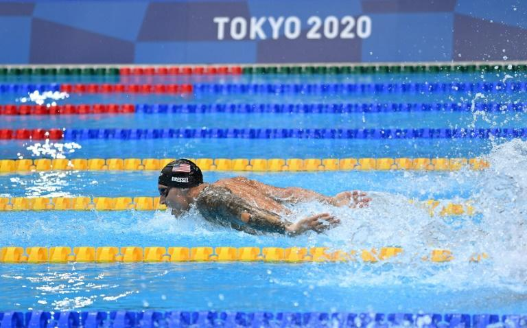 Caeleb Dressel chasing more gold on final day of swimming at the Tokyo Aquatics Centre