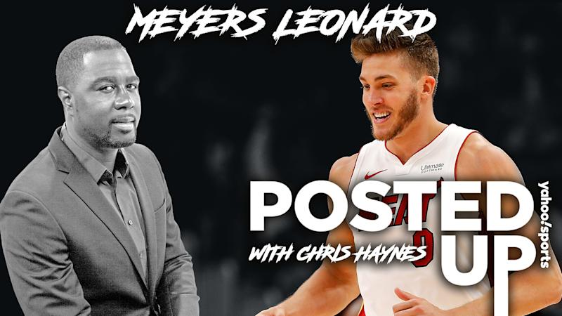 Meyers Leonard chats with Chris Haynes.