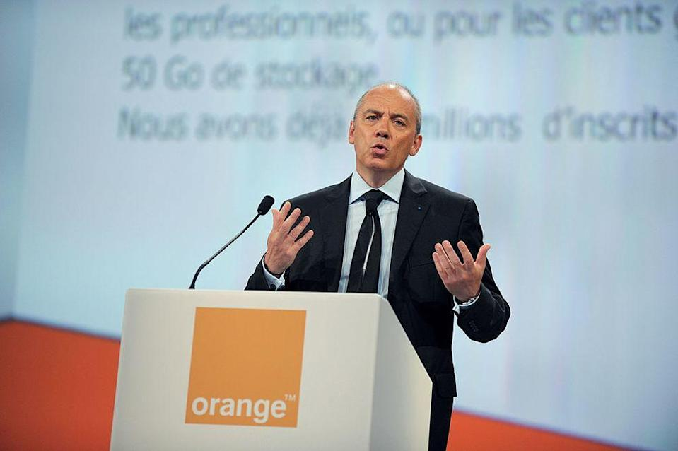 Stephane Richard succeeded Lombard as CEO in 2010; the company changed its name to Orange in 2013. (   AFP AFP/Getty Images)