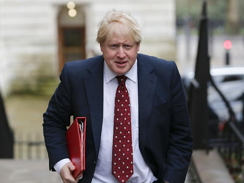 Foreign Secretary Boris Johnson was undaunted by the possibility of Britain being forced to adopt WTO rules: Getty