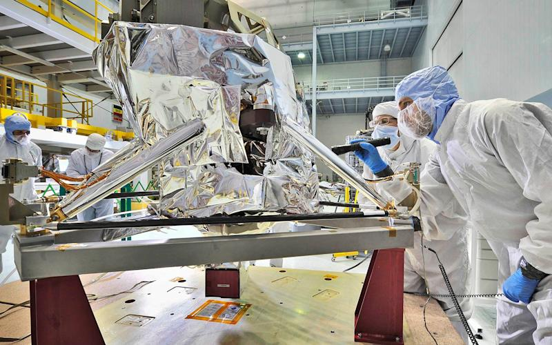Britain's space sector has doubled turnover over the past decade to almost £12 billion a year -