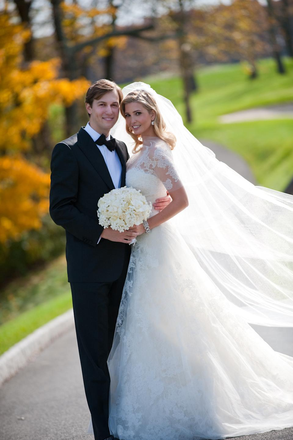 Ivanka Trump and Jared Kushner celebrated their 10-year wedding anniversary on Oct. 25, 2019. Pictured here in 2009. (Photo: Brian Marcus/Fred Marcus Photography via Getty Images)