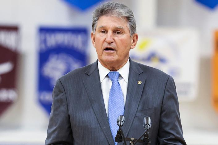West Virginia Sen. Joe Manchin is among the Democrats who have suggested the party slim down their signature democracy reform package. But that risks losing the most politically popular parts of the legislation. (Photo: OLIVER CONTRERAS via Getty Images)