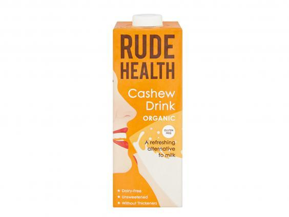 Sip on this silky alternative to cow's milk that has a nutty, full flavour (Holland & Barrett)