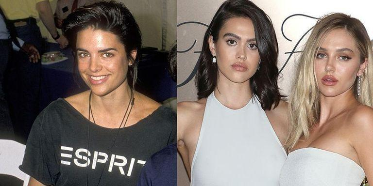 <p>Lisa Rinna rose to stardom in her 20s for her roles on soap operas, like <em>Days of Our Lives</em>. Instead of pursuing acting like their mother, Lisa's daughters with Harry Hamlin, Amelia Gray (left at 18) and Delilah Belle (right at 21) are focusing on modeling.</p>