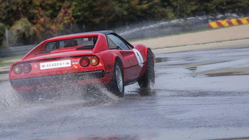 Take Driving Lessons Behind The Wheel Of A Vintage Ferrari