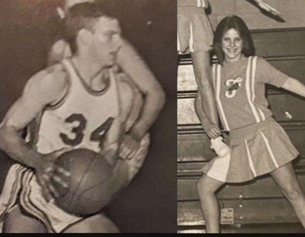 PHOTO: Joe Cougill and Donna Horn in high school in the later 60s.  (Laura Mabry)
