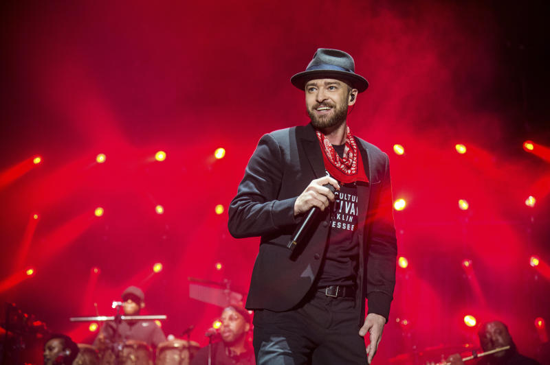 Justin Timberlake will be the Super Bowl LII halftime act. (AP)