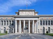 """<p>Designed in 1785 by Spanish architect Juan de Villanueva, <a href=""""https://www.museodelprado.es/en/the-collection"""" rel=""""nofollow noopener"""" target=""""_blank"""" data-ylk=""""slk:the Prado museum"""" class=""""link rapid-noclick-resp"""">the Prado museum</a> in Madrid houses one of the world's greatest art collections, including works by Francisco Goya, El Greco, Peter Paul Rubens, Titian, and Diego Velázquez. Doric columns support a large portico on the main wing, which also features large relief sculpture and statuary displayed in niches.</p>"""