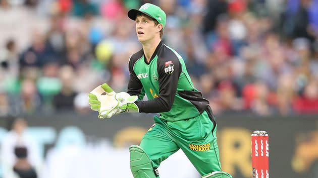 Harper in action for the Melbourne Stars during the BBL. Image: Getty