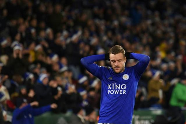 Leicester's winning streak came to an end in a 1-1 draw with Norwich (AFP Photo/Oli SCARFF )