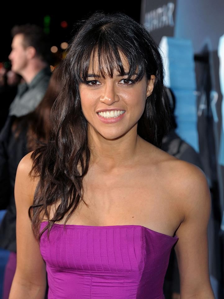 "<a href=""http://movies.yahoo.com/movie/contributor/1800354386"">Michelle Rodriguez</a> at the Los Angeles premiere of <a href=""http://movies.yahoo.com/movie/1809804784/info"">Avatar</a> - 12/16/2009"