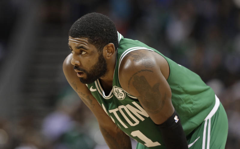 5e85baa6ce1f Kyrie Irving hates Thanksgiving   I don t celebrate that s---
