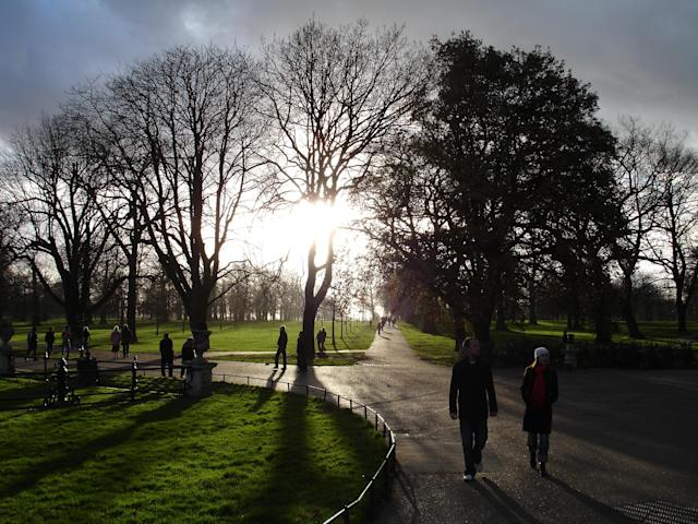 A cold winter day at Hyde Park, London. - Photograph by Georgios Stavrinides , My Shot