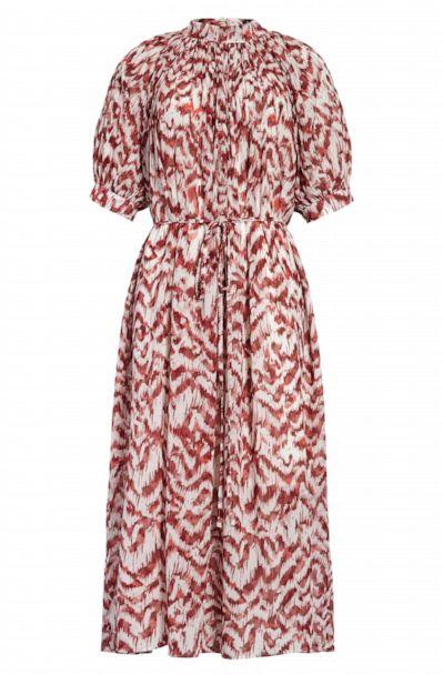 PHOTO: This Maggy London Pleated Puff Sleeve is featured in Nordstrom's 2020 Anniversary Sale. (Nordstrom)