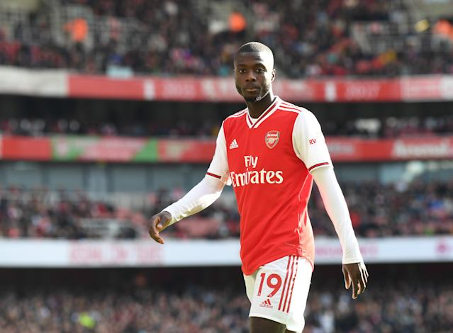 Nicolas Pepe hasn't had the smoothest of starts to life in north London. (Credit: Getty Images)