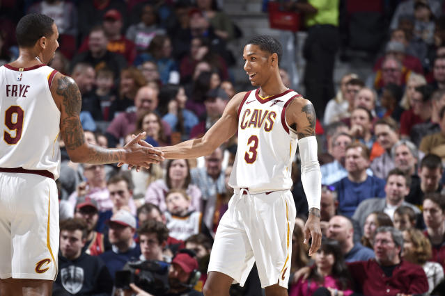The NBA cleared the Cavaliers of any wrongdoing after signing and releasing guard Patrick McCaw. (Photo by David Liam Kyle/NBAE via Getty Images)
