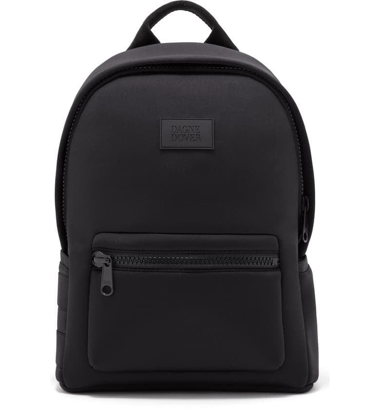 "<p>If your style is minimal, I recommend the <a href=""https://www.popsugar.com/buy/Dagne-Dover-Medium-Dakota-Neoprene-Backpack-481012?p_name=Dagne%20Dover%20Medium%20Dakota%20Neoprene%20Backpack&retailer=shop.nordstrom.com&pid=481012&price=175&evar1=fit%3Aus&evar9=46507828&evar98=https%3A%2F%2Fwww.popsugar.com%2Ffitness%2Fphoto-gallery%2F46507828%2Fimage%2F46508343%2FOnyx-Dagne-Dover-Medium-Dakota-Neoprene-Backpack&list1=fitness%20gear%2Cbackpacks&prop13=mobile&pdata=1"" rel=""nofollow"" data-shoppable-link=""1"" target=""_blank"" class=""ga-track"" data-ga-category=""Related"" data-ga-label=""https://shop.nordstrom.com/s/dagne-dover-medium-dakota-neoprene-backpack/5327363?origin=coordinating-5327363-2375500-1-HP_CUST_HIS-recbot-recently_viewed_snowplow_mvp&amp;recs_placement=HP_CUST_HIS&amp;recs_strategy=recently_viewed_snowplow_mvp&amp;recs_source=recbot&amp;recs_page_type=home&amp;recs_seed=0"" data-ga-action=""In-Line Links"">Dagne Dover Medium Dakota Neoprene Backpack</a> ($175) in the color onyx.</p>"