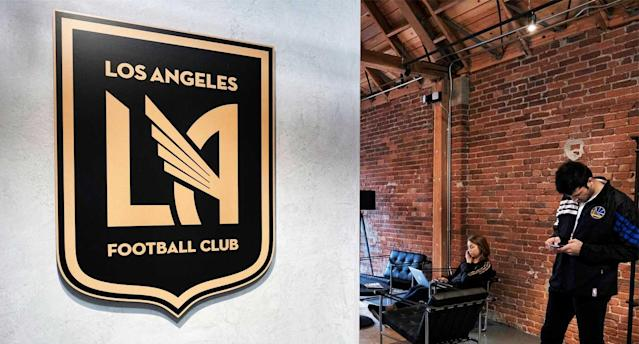 LAFC has some sweet downtown digs. (AP Photo)
