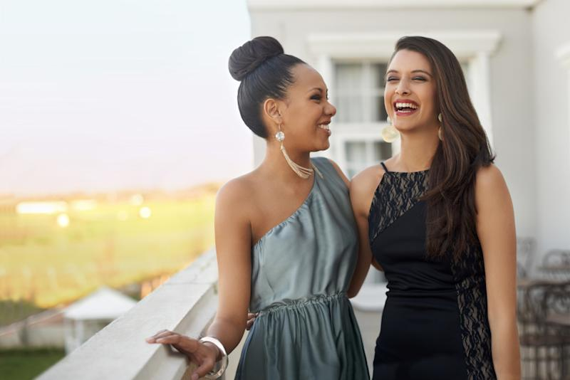 "A school has nominated two female students, depicted here by models, as ""homecoming royalty"". [Photo: Getty]"