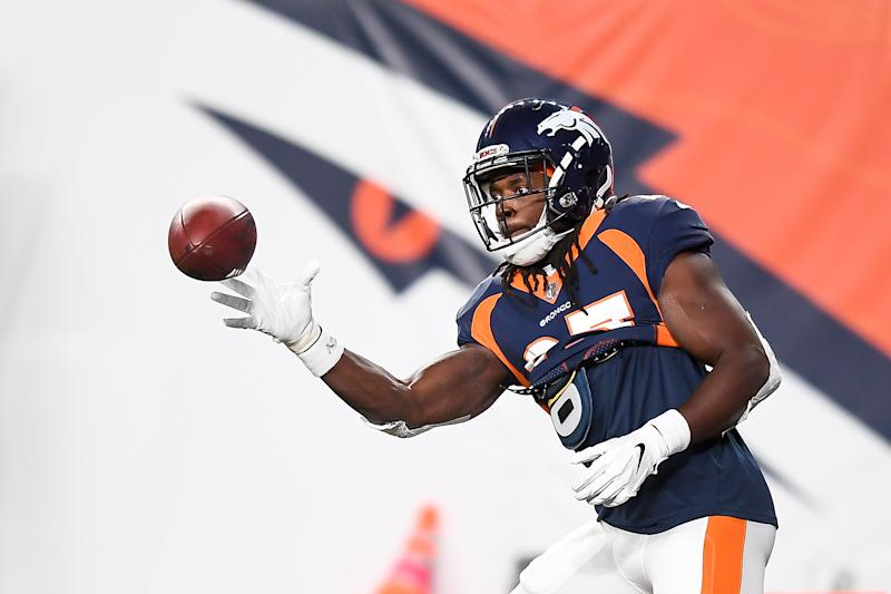 Broncos running back Melvin Gordon was reportedly charged with a DUI in Denver on Tuesday night