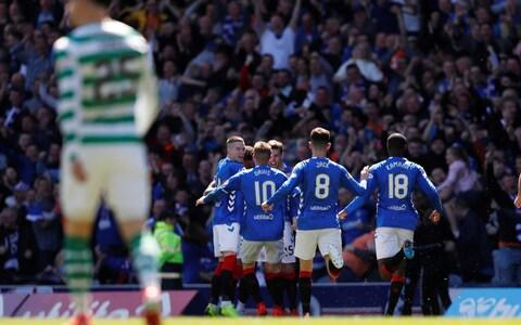Celtic were beaten by Old Firm rivals Rangers last weekend - Credit: REUTERS