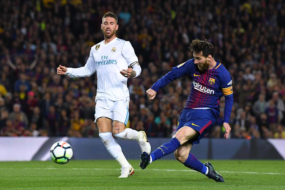 Real Madrid and Barcelona remain the favorites in La Liga, but 2018-19 could end up being a three-team title race. (Getty)