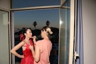 Most beautiful backdrop for glam.