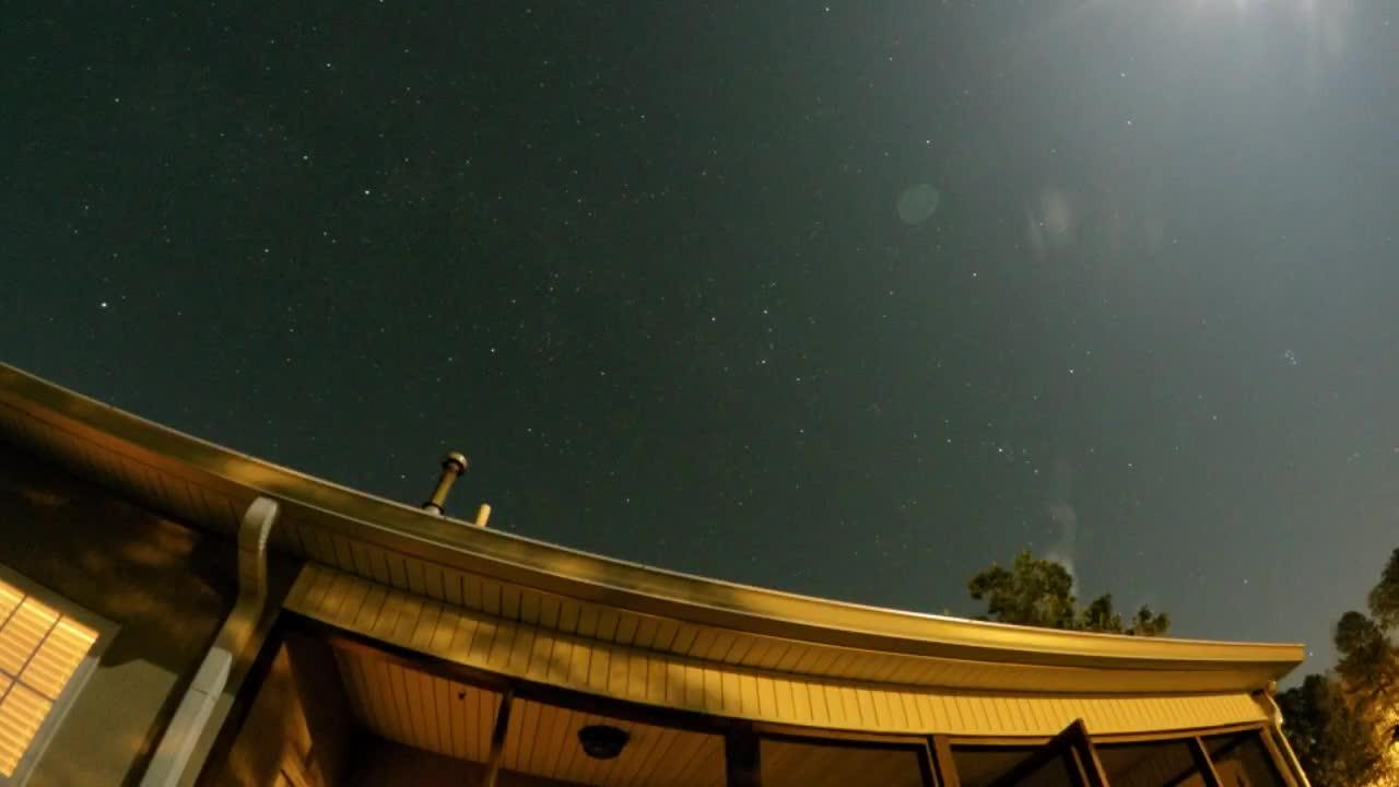 Check out this spectacular time lapse footage of the famous Perseid meteor shower of 2017. Filmed with a GoPro Hero4 Silver.