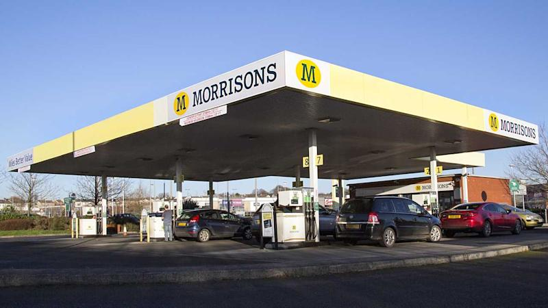 Morrisons petrol station Swansea UK