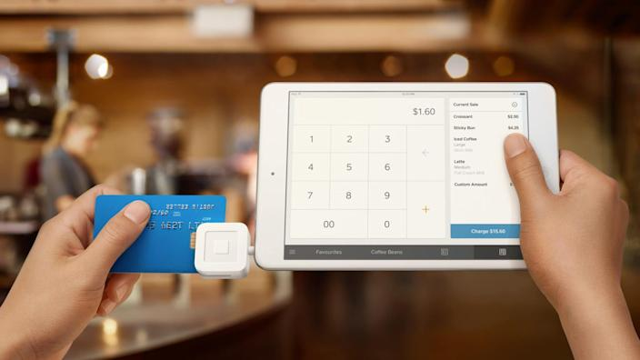Square, credit card payment