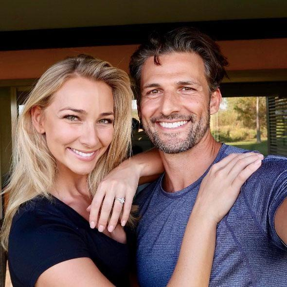 The Bachelor's Tim Robards and Anna Heinrich are engaged. Source: Instagram