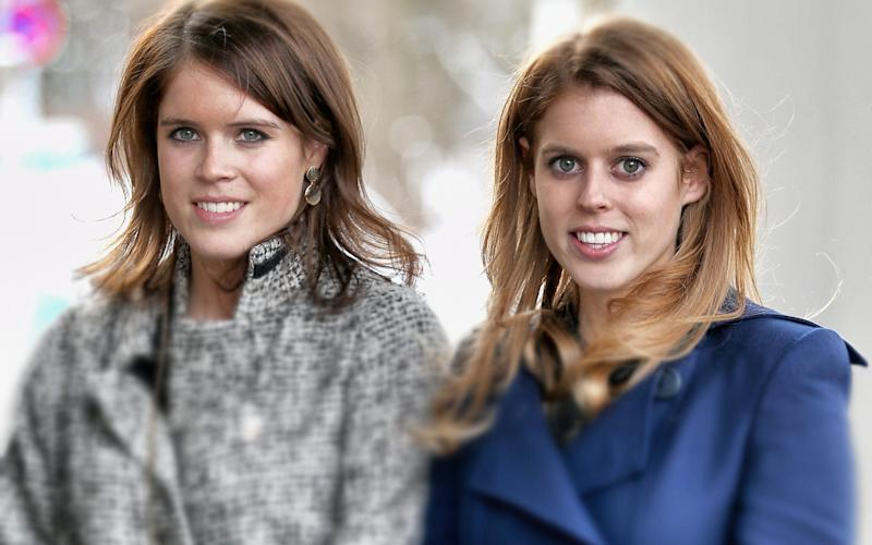 Princess Beatrice and Princess Eugenie - Credit: Chris Jackson/Getty Images