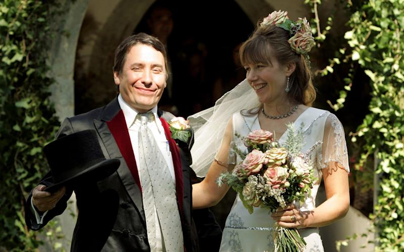 Jools Holland and Christabel McEwen married at Cooling Castle  - Getty Images