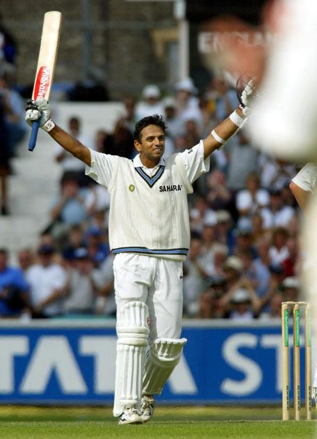 Dravid was the third Indian batsman after Vijay Hazare and Sunil Gavaskar to score centuries in both innings of a match during the 1999 New Year's Test match against New Zealand with 190 and 103* to force a draw.