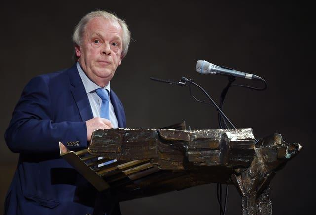 Gordon Taylor File Photo