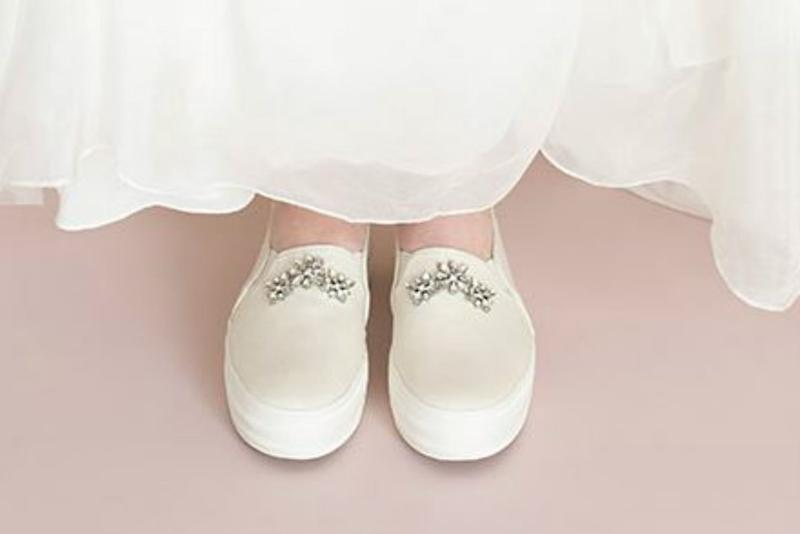 ee0fb49aceca Keds and Kate Spade s New Wedding Sneakers Collab Is a Perfect Union