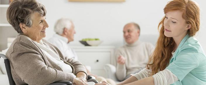 <cite>Photographee.eu / Shutterstock</cite> <br>Nursing homes are for seniors who require a great deal of care and help with daily activities.<br>