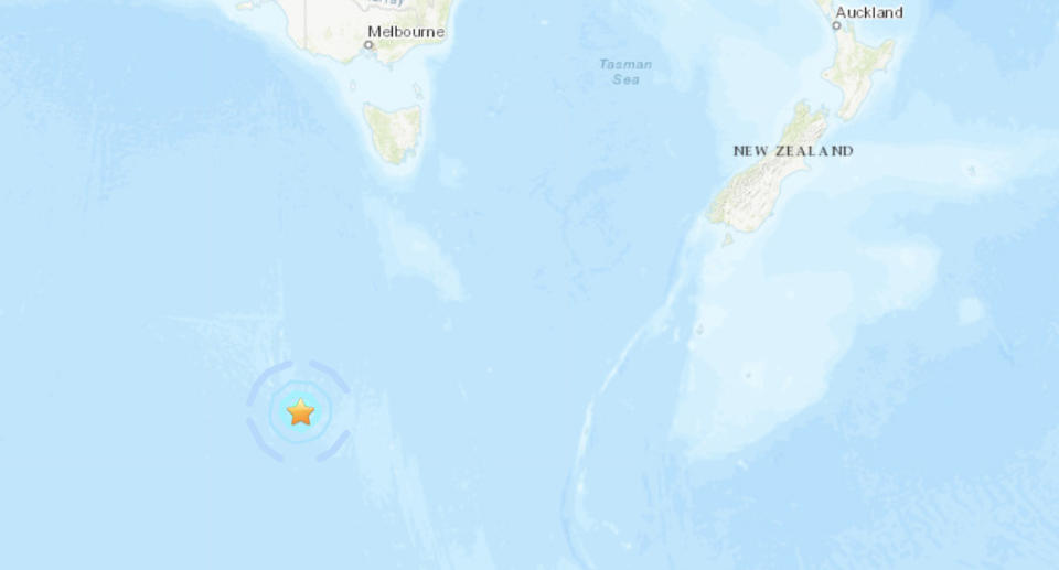 An earthquake has been detected off Macquarie Island.