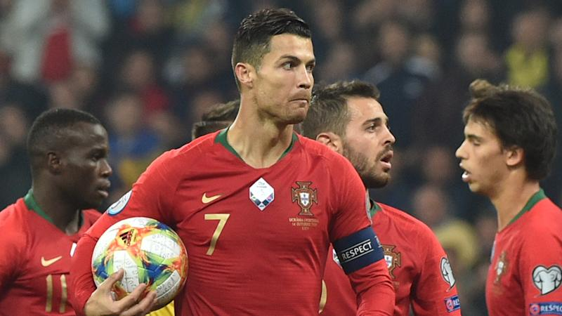 Ronaldo fires 700th career goal in Euro 2020 qualifier against Ukraine