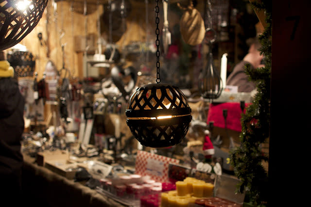 "<p>One of Sweden's most-loved holiday traditions, Skansen's Christmas Market has been held since 1903. Fill up on traditional sausages and spices and lose yourself in the homemade delights, such as mustard, marzipan and hand-dipped candles. Don't miss sampling pepparkakor (gingersnaps) and glögg (mulled wine). See <u><a rel=""nofollow"" href=""https://www.visitstockholm.com/guides/christmas-markets-in-stockholm/"">visitstockholm.com</a></u>. [Photo: Flickr/<u><a rel=""nofollow"" href=""https://www.flickr.com/photos/92666021@N04/"">csw27</a></u>] </p>"