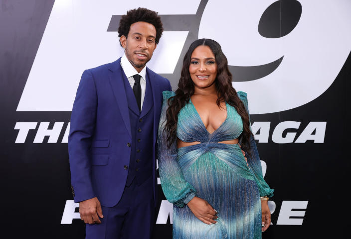 Ludacris and Eudoxie Mbouguiengue (Rich Fury / WireImage)